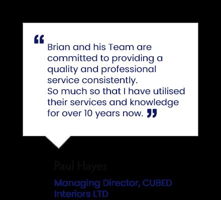 Client testimonial - Gillespie & McLean Electrical Services LTD