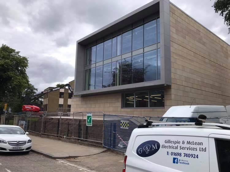 Kelvinside Academy - Electrical Contractor Glasgow