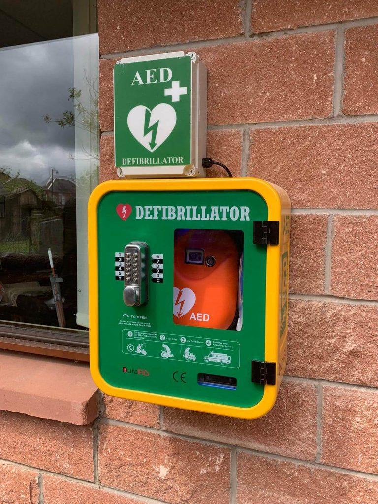 Free Electrical Installation - Defibrillator